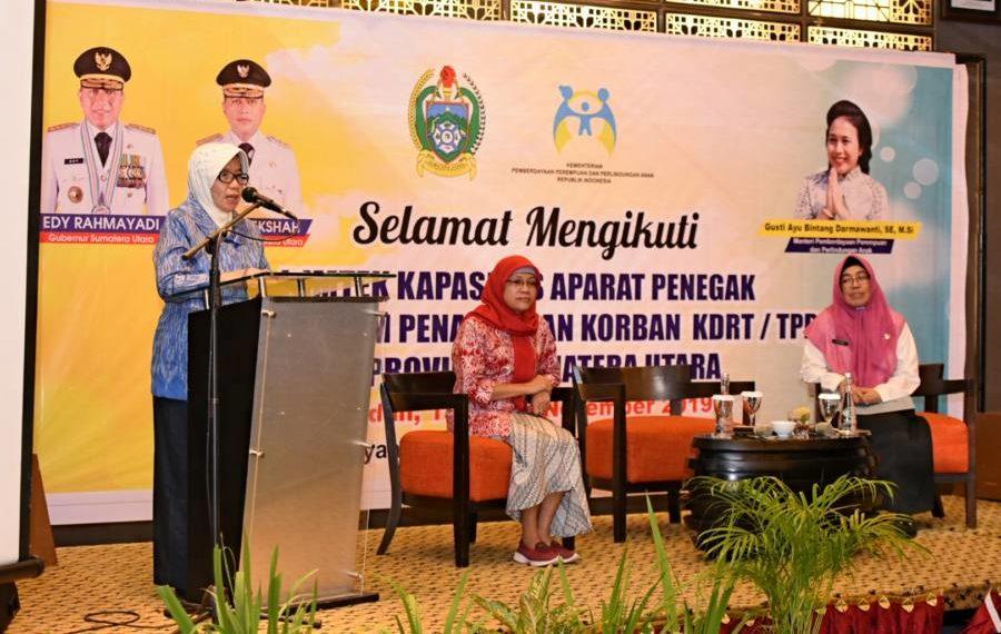 Sabrina Harapkan Penegakan Hukum dapat Mencegah KDRT dan TPPO