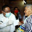 DR Eddy Keleng Berutu kunjungi Veteran di Desa Kuta Tengah