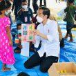 Presiden Jokowi Tinjau Posko Pengungsi Di Lembata, NTT