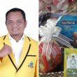 Berbagi Kebaikan, DPD Partai Golkar Pakpak Bharat Bagikan 400 Paket Sembako