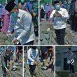 Bupati Dairi DR. Eddy KA Berutu Ikut Serta Peletakan Batu Pertama Rehap Mesjid Al Hidayah Sitinjo