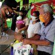 Kapolres Pakpak Bharat Salurkan Paket Sembako