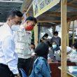 PD Pasar Sidikalang dan Polres Dairi Laksanakan Vaksinasi Merdeka